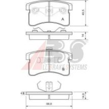 A.B.S. Kit de placa de travão