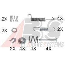 A.B.S. Kit de acessórios, Maxilas do travão de estacionamento