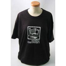 Static Caravan Static Caravan - Black T-Shirt UK t-shirt LARGE T-SHIRT - BLACK