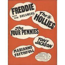 Freddie & The Dreamers Tour Programme 1964 UK tour programme TOUR ROGRAMME