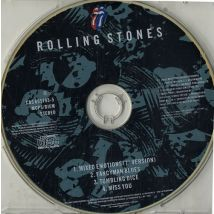 Rolling Stones Mixed Emotions - Clear Jewel Case 1989 UK CD single 655193-5