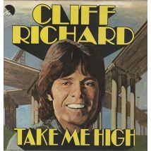 Cliff Richard Take Me High 1973 UK vinyl LP EMC3016