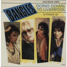 "The Bangles Going Down To Liverpool 1986 Dutch 12"" vinyl A12.4914"