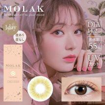 PIA - Molak 1-Day Color Lens Coral Brown 10 pcs