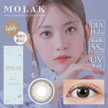 PIA - Molak 1-Day Color Lens Mirror Gray 10 pcs