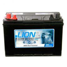 Lion Marine Sealed Dual Term 95AH 750CCA