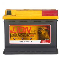 Lion Agm Battery 027 60AH 680CCA