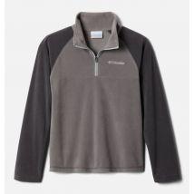 Columbia - Glacial Fleece Half Zip Jacket - Grey, Shark Size XS - Boys