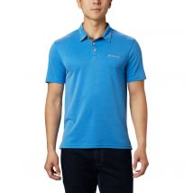 Columbia - Nelson Point Polo – Extended Size - Azure Blue Size 4X - Men
