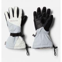 Columbia - Whirlibird Glove - White Crackle, Cirrus Grey Size M - Women