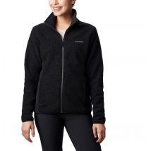 Columbia - Panorama Sherpa Fleece Jacket - Black Size L - Women