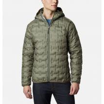 Columbia - Delta Ridge Down Hooded Jacket - Stone Green Size XXL - Men