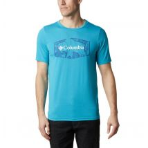 Columbia - Terra Vale II T-Shirt - Clear Water Roam Hex Size XXL - Men