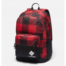 Columbia - Zigzag 30L Backpack - Mountain Red Check, Black Size O/S - Unisex