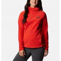 Columbia - Polar con capucha Ali Peak - Bold Orange Talla XL - Mujer