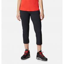 Columbia - Muir Pass II Cropped Hiking Trousers - Black Size 18 UK - Women