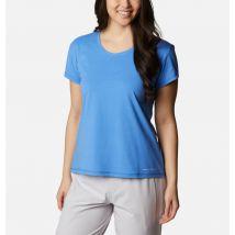 Columbia - Sun Trek T-Shirt - Harbor Blue Size XS - Women