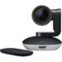 Logitech Video Conferencing Camera - 30 fps - Black, Silver - USB - 1920 x 1080 Video - Auto-focus