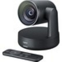 Logitech Video Conferencing Camera - 13 Megapixel - 60 fps - Matte Black, Slate Grey - USB 3.0 - 3840 x 2160 Video - Auto-focus