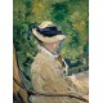 Edouard Manet - Madame Manet at Bellevue, 1880