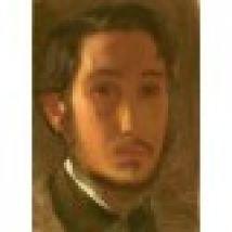 Edgar Degas: Self-Portrait with White Collar, 1857