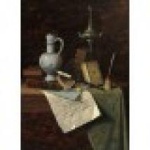 William Michael Harnett: My Gems, 1888