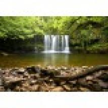 Sgwd Clun-Gwyn Waterfall near Neath