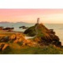 Old lighthouse at Llanddwyn Island, Anglesey