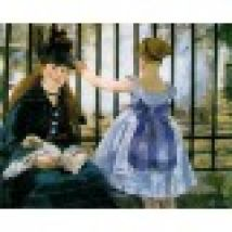 Jigsaw Puzzle - 250 Pieces - Art - Wooden - Manet : The Railway