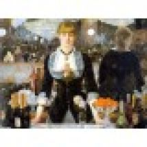 Jigsaw Puzzle - 1000 Pieces - Impressionism - Manet : Bar at the Folies-Bergeres