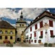 Jigsaw Puzzle - 1000 Pieces - Discovering Europe : Schasburg, Sighisoara, Romania