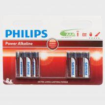 Phillips PowerLife AAA Alkaline Batteries, Multi