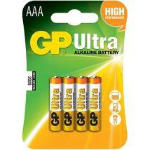 GP Batteries Ultra Alkaline Batteries (12 x AAA), Multi Coloured