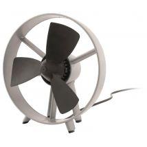 Outwell San Juan Camping Fan, Black/Silver