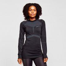 Craft Women's Active Intensity Long Sleeve Baselayer Top, BLK/BLK