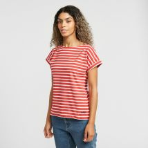 Weird Fish Women's Esha T-Shirt, RED/RED