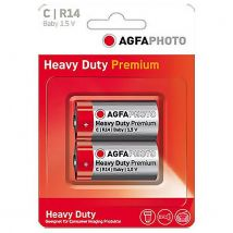 AGFA Zinc Carbon C Batteries (2 pack)