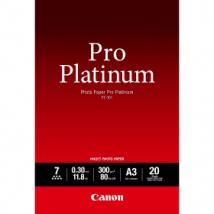 Canon PT-101 Original A3 Pro Platinum Photo Paper 300g, x20