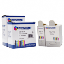 Compatible Advent ABK10 / ACLR10 Black & Colour Ink Cartridge Pack (Own Brand)