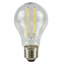 E27 Screw LED 6W Filament GLS Bulb (60W Equivalent) 806 Lumen - Warm White Clear