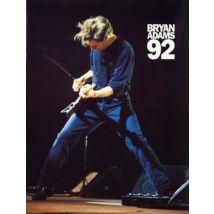 Bryan Adams Bryan Adams 1992 1992 UK tour programme