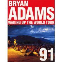 Bryan Adams Waking Up The World Tour '91 1991 UK tour programme TOUR PROGRAMME