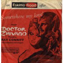 "Ray Conniff Somewhere My Love 1966 UK 7"" vinyl WB727"