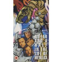 Metallica A Year And A Half In The Life Of - Part 1 1992 UK video 085550-3