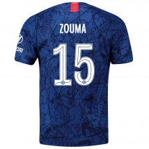 Chelsea Home Cup Stadium Shirt 2019-20 with Zouma  15 printing