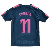 Atlético de Madrid Third Stadium Shirt 2017-18 - Kids with Correa 11 printing