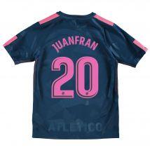 Atlético de Madrid Third Stadium Shirt 2017-18 - Kids with Juanfran 20 printing