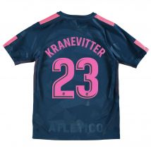 Atlético de Madrid Third Stadium Shirt 2017-18 - Kids with Kranevitter 23 printing