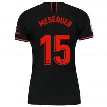 Atlético de Madrid Away Stadium Shirt 2019-20 - Womens with Meseguer 15 printing