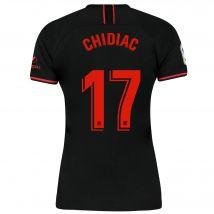Atlético de Madrid Away Stadium Shirt 2019-20 - Womens with Chidiac 17 printing